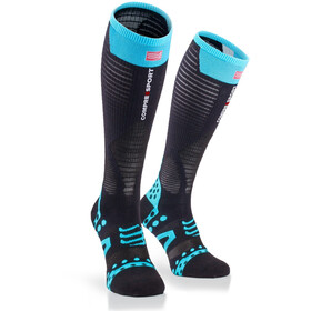 Compressport Ultralight Racing Chaussettes hautes, black
